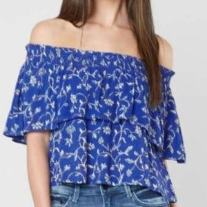 Amuse Society Off The Shoulder Top Large
